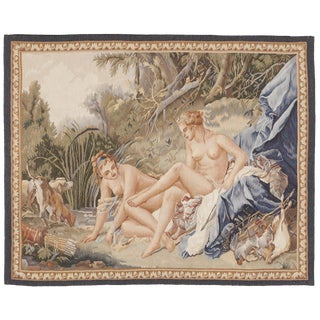 Chinese Aubusson Wall Tapestry