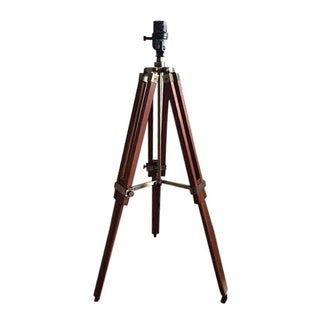 Campaign Surveyor Adjustable Tripod Table Lamp
