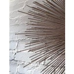 Image of Mid-Century Brutalist Starburst Wall Sculpture