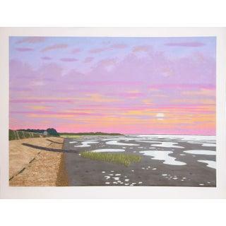 Bill Sullivan - Low Tide 10 Hand Colored Litho