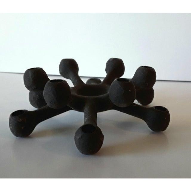 Dansk Danish Modern Spider Iron Candle Holder - Image 3 of 6