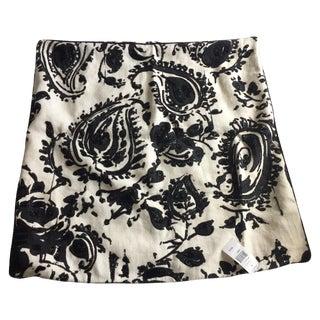 Ralph Lauren Pillow Covers, Black & Cream - Pair