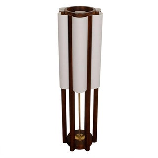 Architectural Modernist Tall Table Lamp