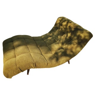 """Adrian Pearsall """"Wave"""" Chaise Lounge Chair"""