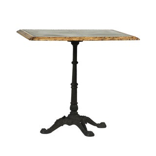 Zinc Square Bistro Table