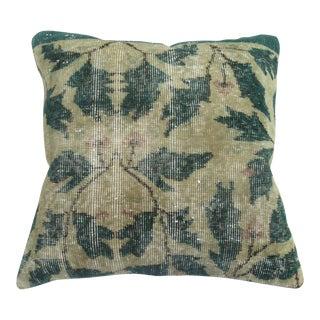 Turkish Rug Green Pillow