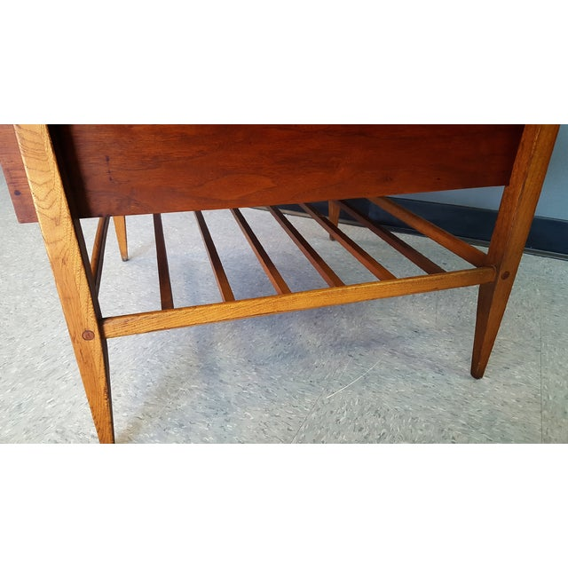 Mid-Century Lane Co. Single Drawer Side Table - Image 11 of 11