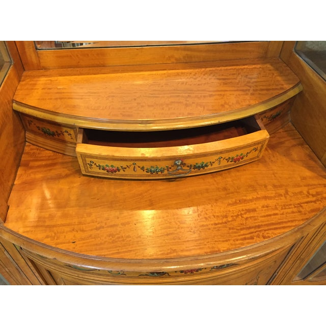 Antique European Display Hutch - Image 10 of 11