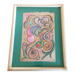 Free Forms French Colorful Pastel 1962