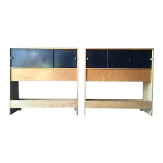 Mid-Century Paul McCobb Twin Head Boards- A Pair
