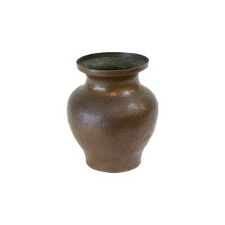 Hammered Copper Vase