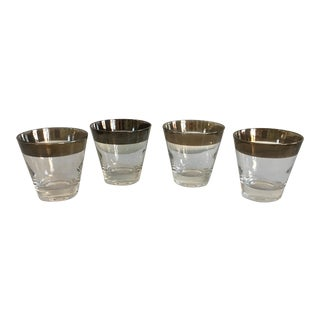 Vintage Dorothy Thorpe Bar Glasses - Set of 4