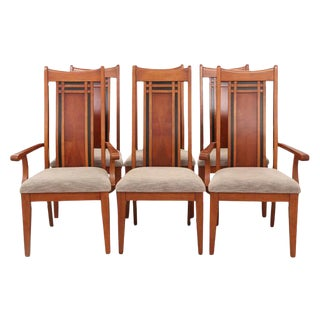 Chinoiserie Style Dining Chairs, S/6