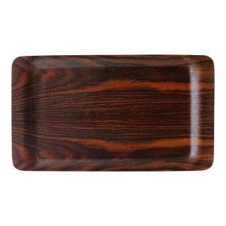 Vintage Danish Modern Rosewood Serving Tray