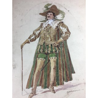 Metropolitan Opera House Costume Drawing