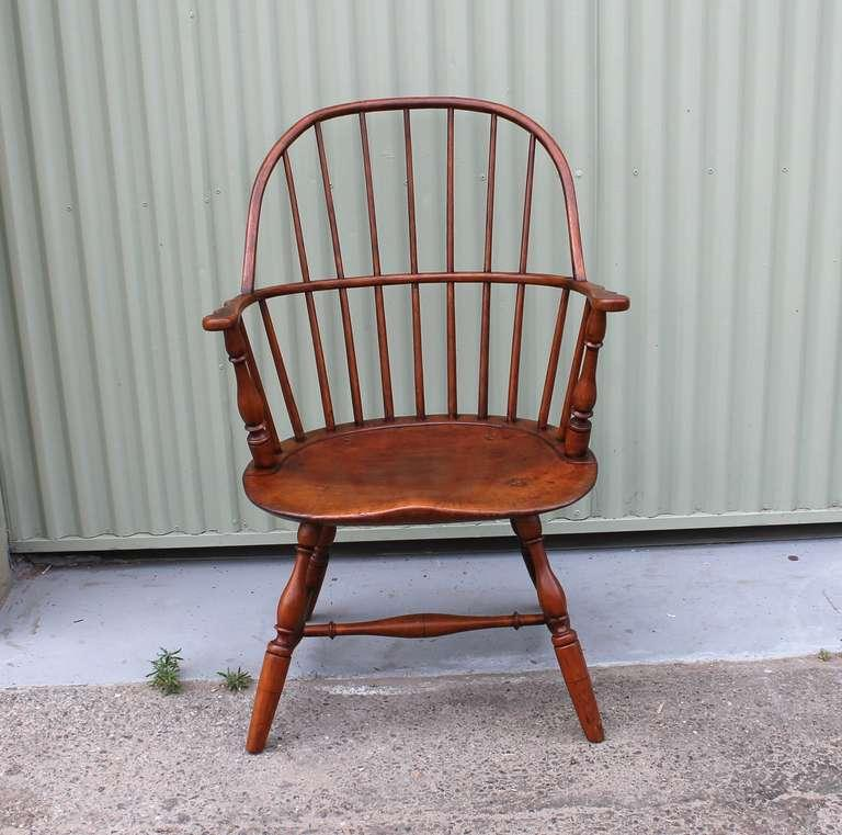 19th Century Sack Back Windsor Chair   Image 2 Of 7