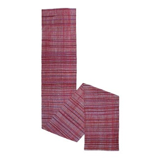 Red Kilim Runner, Very Long