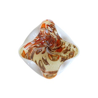 Fall Tutti Frutti Vintage Murano Glass Bowl