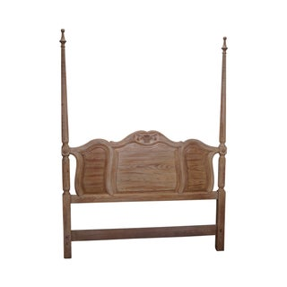 French Country Style Queen Poster Bed Headboard