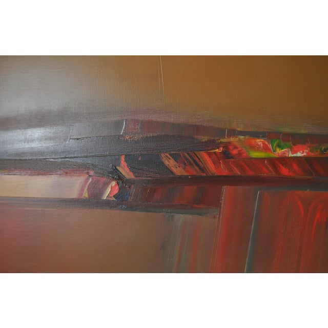 Don Clausen Abstract Expressionist Painting C.1980 - Image 6 of 7