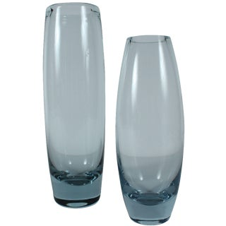 Holmegaard Hellas & Akva Vase, S/2