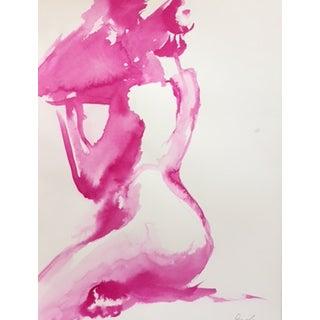 Fuchsia Figure Study by Inslee