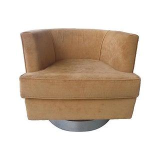 1970's Swivel Club Chair