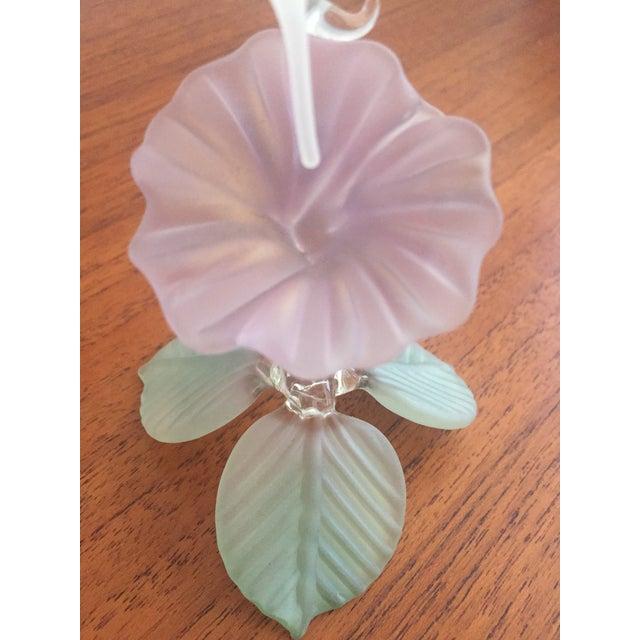 Hummingbird Blown Glass Figurine - Image 6 of 8
