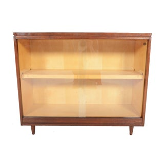 White & Newton Rosewood and Birch Bookcase