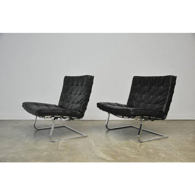 Mies Van Der Rohe Tugendhat Lounge Chairs for Knoll - Image 5 of 9