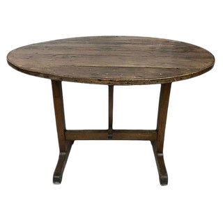French Folding Wine Table