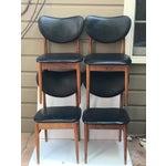 Image of Mid Century Modern Teak Dining Chairs - Set of 4