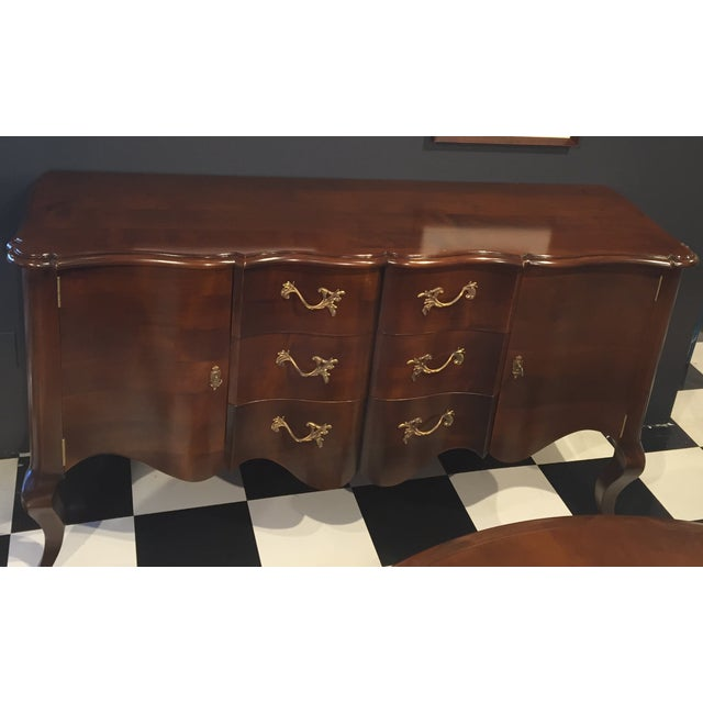 Image of Pompadour Louis XV Sideboard