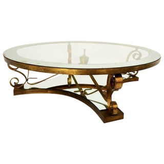 Arturo Pani Round Cocktail Table