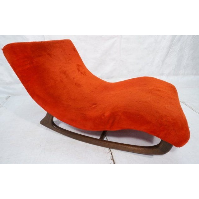 Mid century modern adrian pearsall rocking chaise chairish for Adrian pearsall rocking chaise