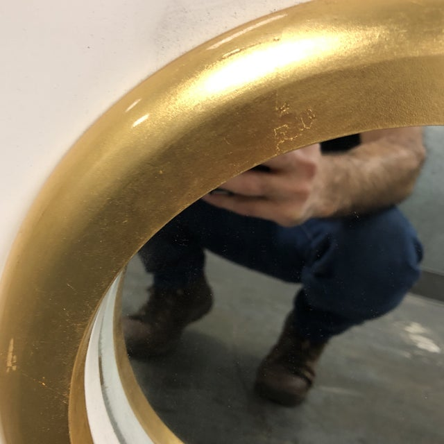 Palecek Andaz White Mirror - Image 4 of 7