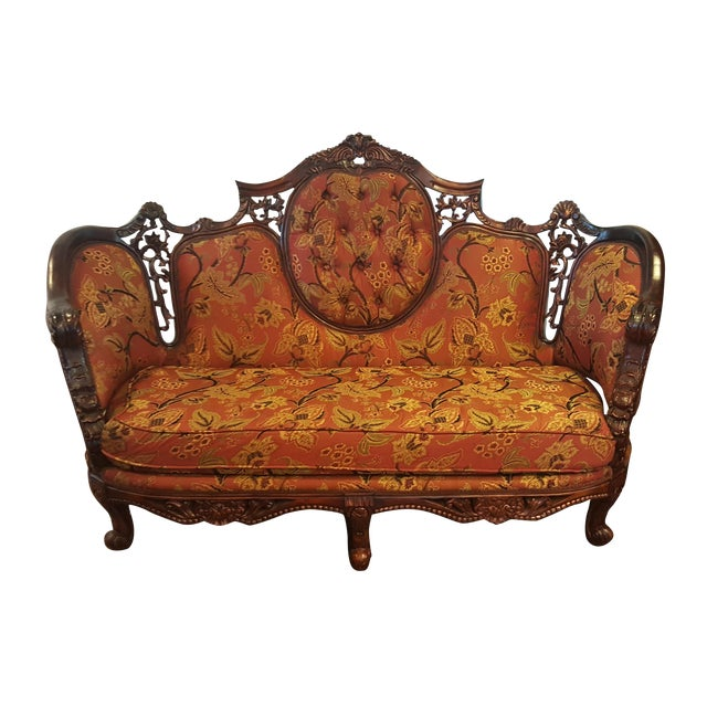 traditional italian style sofa chairish