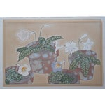 Image of Vintage Japanese Botanical Woodblock Print