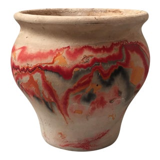 Nemadji Red Pottery Vase