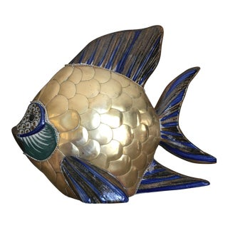 Mexican Scalloped Brass Fish