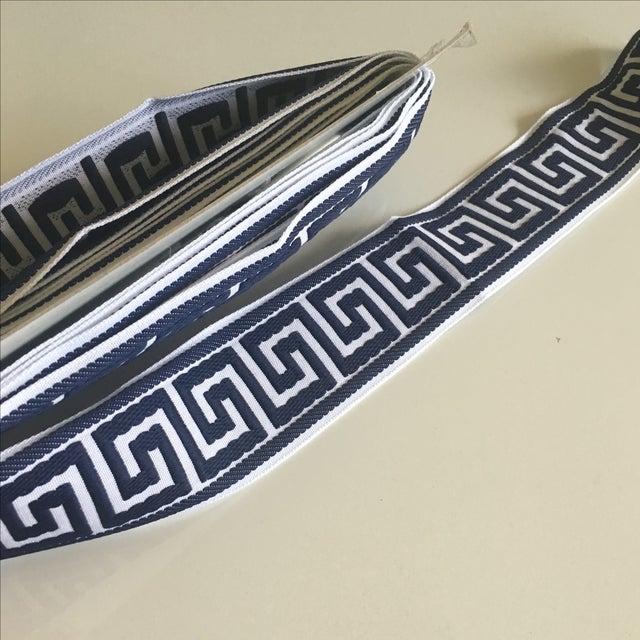 Blue & White Greek Key Trim Banding - Image 8 of 8