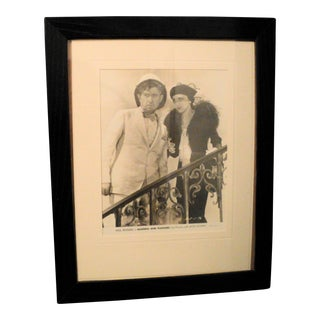 Antique Original Hollywood Movie Photograph Will Rogers Business & Pleasure Jetta Goudal