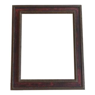 Mid-Century Painted Wormwood Frame