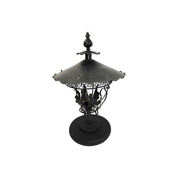 Image of Converted Gas Table Lamps - Pair