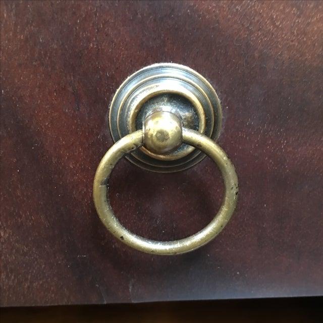 Locking English Storage & Display Cabinet - Image 7 of 10