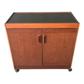 Phillips UK Mid-Century Danish Style Warming & Storage Cart