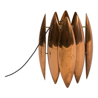 Louis Weisdorf Sculptural Copper Pendant