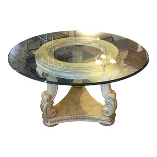 Wood & Glass Dining Table