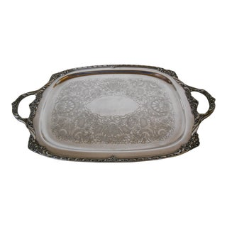 Rogers Bros. Silverplate Tray