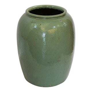 Sea Foam Ceramic Planter Pot